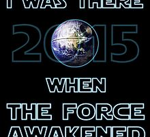 The Force Awakened 2015 by wightjester
