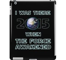 The Force Awakened 2015 iPad Case/Skin