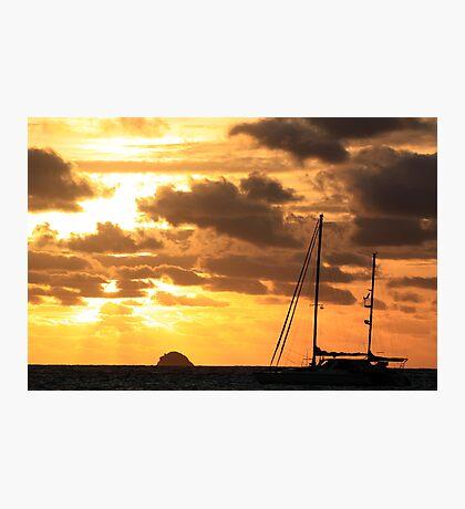 MCC Sunset Sailing Photographic Print