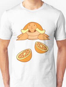 Orange Citrus Turtle Unisex T-Shirt
