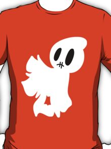Stitched Mouth Blankey Ghost T-Shirt
