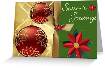 Season Greetings (6926 VIEWS) by aldona