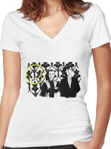 In 221B Women's Fitted V-Neck T-Shirt