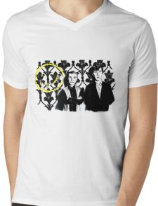 In 221B Mens V-Neck T-Shirt