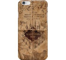 Harry Potter - Marauders Map iPhone Case/Skin