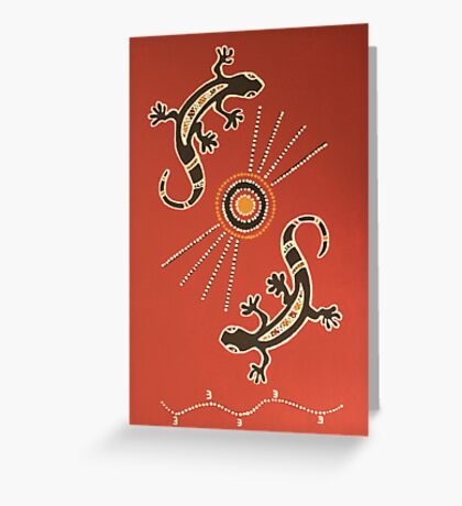 MCC Mossman Community Centre Artwork Greeting Card