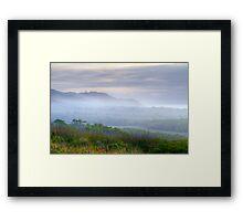 Arakwal Mist - Byron Bay Framed Print