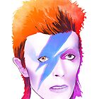watercolor bowie by albany
