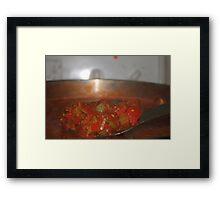 Homemade Salsa Framed Print