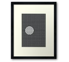 Opticlusion Framed Print