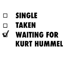 Waiting for Kurt Hummel by kardish