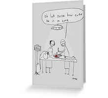 love surgery Greeting Card