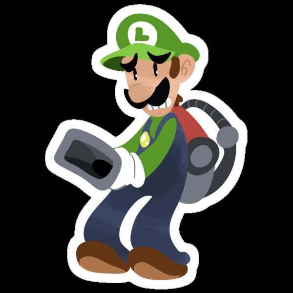 Little Luigi Poltergust 3000 by SaradaBoru