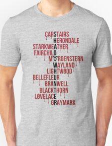 Shadowhunter Family Names T-Shirt
