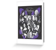 SNSD Phantasia 4th tour  Greeting Card