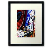 Spray Cans 2 Framed Print
