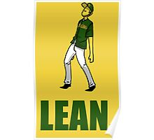 can you lean? Poster