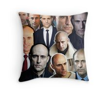 Mark Strong Throw Pillow