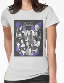 SNSD Phantasia 4th tour  Womens Fitted T-Shirt