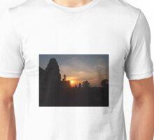 Angkor Wat Sunset by Nicholas G.  Photography.   Unisex T-Shirt