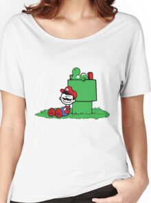 a boy and his dino Women's Relaxed Fit T-Shirt
