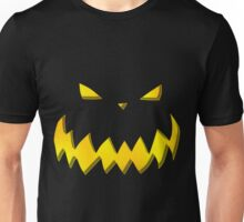 PUMPKIN FACE FOR HALLOWEEN Unisex T-Shirt