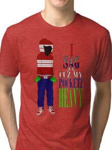 Corporate Pocketz Tri-blend T-Shirt