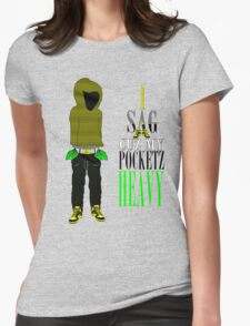 Bumble B Pocketz Womens Fitted T-Shirt