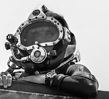 The Military Diver  by heatherfriedman