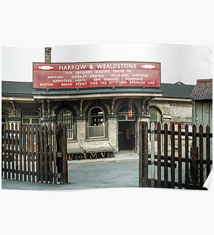 Harrow Wealdstone station 19610419 0181 Poster