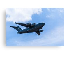 US Air Force C-17 Canvas Print