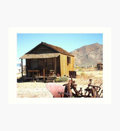 Desert Abode Art Print