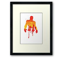 Genius - The Hero Collection Framed Print