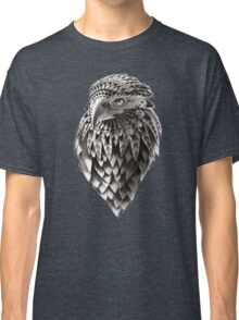 Ornate Tribal Shaman Eagle Print Classic T-Shirt