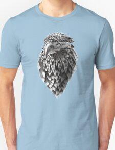Ornate Tribal Shaman Eagle Print T-Shirt