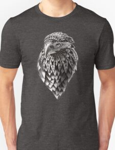 Ornate Tribal Shaman Eagle Print Unisex T-Shirt