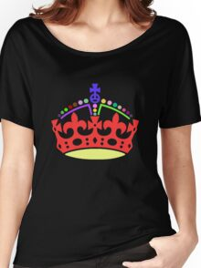 A Rainbow Crown Women's Relaxed Fit T-Shirt