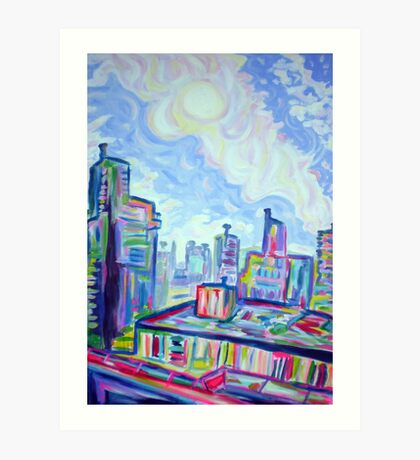 The West End Art Print