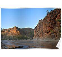 Sunrise at Ross River Poster