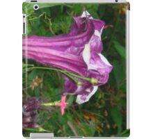 Purple Wrinkle Trumpet iPad Case/Skin