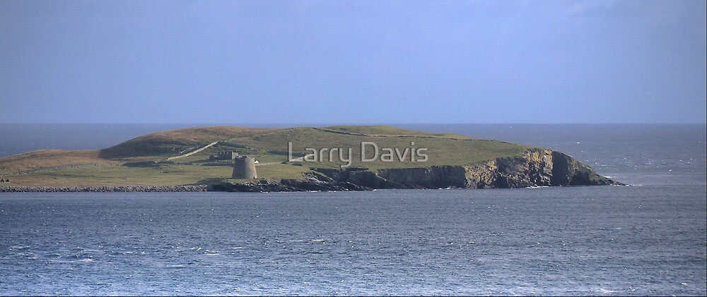 The Mousa Broch by Larry Lingard-Davis