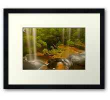 Lower Somersby Falls .. a view sublime Framed Print