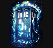 Dr Who Tardis - British Police Box Lost In Space T-Shirt