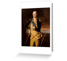 General George Washington Greeting Card