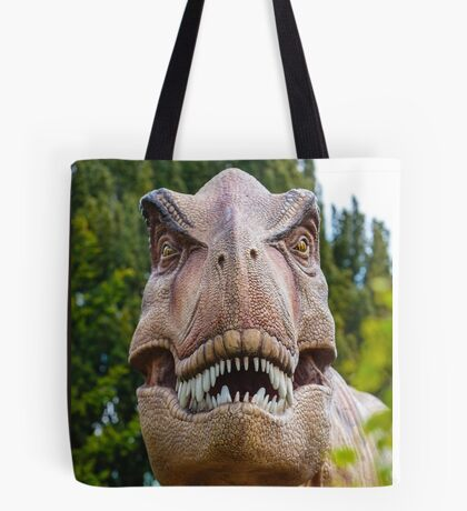 Tyrannosaurus rex with a grin Tote Bag