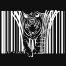 WHITE TIGER BARCODE  by SFDesignstudio