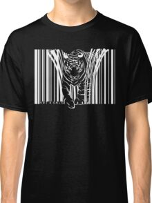 WHITE TIGER BARCODE  Classic T-Shirt