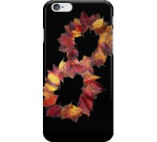 Infinite Autumn In Dogwood Leaves iPhone Case/Skin