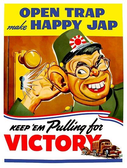 Keep Em Pulling For Victory - WW2 Propaganda by warishellstore