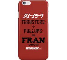 Fran Cough! Red iPhone Case/Skin